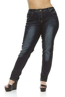 VIP Plus size Skinny Jeans for women Classic 5 Pocket Slim F