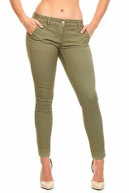 VIP Skinny Jeans for women Pants trouser slant pockets Plus