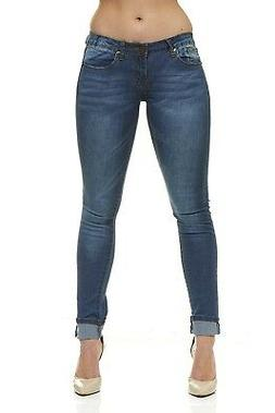 VIP Skinny Jeans For Women Slim Fit Stretch 5 Color options