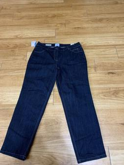 Wemons Sz 16w Classic Fit Jms By Hanes Denim Jeans New With