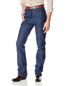 Wrangler Men's Western Boot Cut Jean Regular, Navy, 36x32