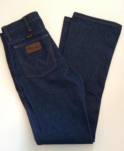 Wrangler Men's Western Boot Cut Slim Jean,Navy,36x31