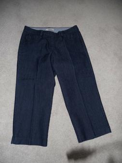 womans petits capri jeans Dockers 6P