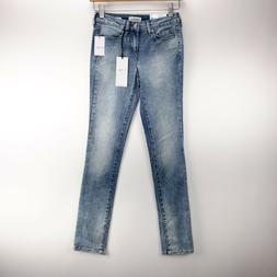 Jessica Simpson Womans Size 25 Light Wash Cherish Barcelona