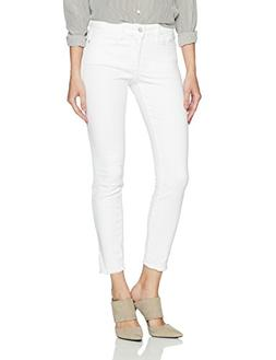 NYDJ Women's Ami Skinny Ankle in Twill with Fray Hem and Sid