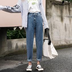 Women's Autumn And Winter New <font><b>Jeans</b></font> Kore