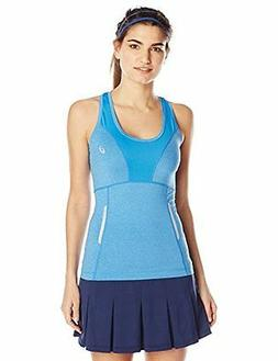 ASICS Women's Fujitrail Sleeveless Tank, Jeans Heather, Smal