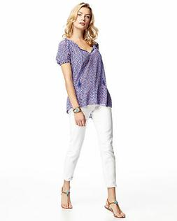 7 For All Mankind Women's Gwenevere Ankle-Crop Super Skinny
