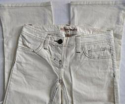 Women's JR Size 00 NWT American Eagle Cream/Off White Boot C