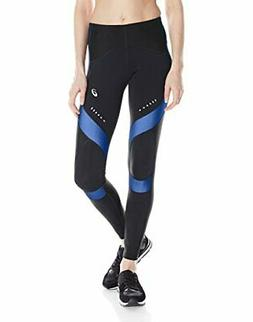 ASICS Women's Leg Balance Compression Tights, Jeans, Medium