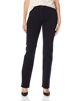 NYDJ NYDJ Marilyn Straight Leg Jean - Black
