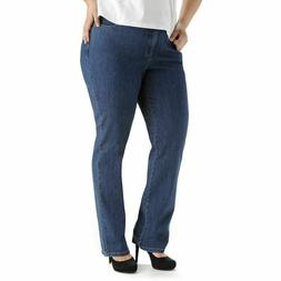 LEE Women's Plus Size Instantly Slims Classic relaxed fit st