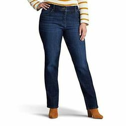 Lee Women's Plus Size Relaxed Fit Straight Leg Jea - Choose
