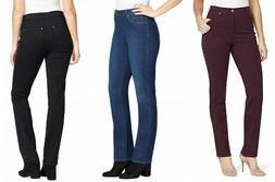 Gloria Vanderbilt Women's Rail Straight Leg Jeans