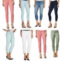 Jessica Simpson Women's Rolled Crop Skinny Jeans, Soft Sculp