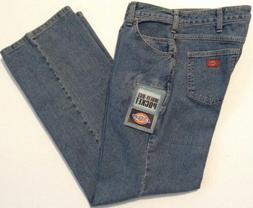 Dickies Women's Size 4 Reg Blue Jeans 6-pockets Casual Fit S