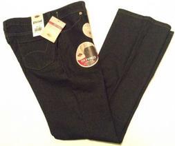 Dickies Women's Size 6 Reg Dark Wash Blue Jeans Curvy Fit Bo