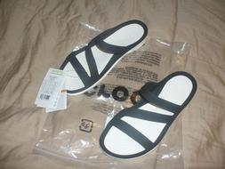Crocs Women's Swftwater sandal  Relaxed Fit Black/White Choi