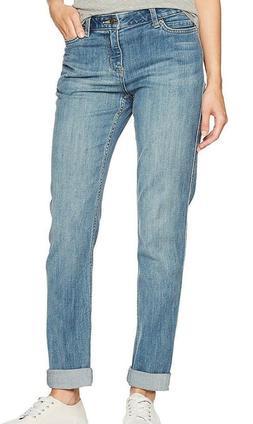 Carhartt Women's Tomboy Fit Benson Jean, Stonewash, Size 2/R