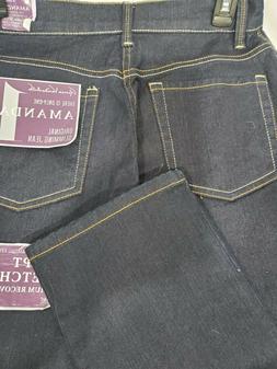 Womens Gloria Vanderbilt Amanda Slimming Jeans NEW Size 6 Sh