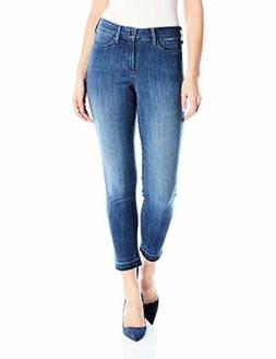 NYDJ Womens Collection Alina Skinny Jeans In Sure Stretch De