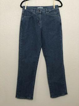 Lee Womens Jeans Relaxed Fit Straight Leg Size 6 Med