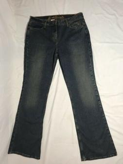 Women's Arizona Jeans Size 13 Long - Low Rise Flare - Stre