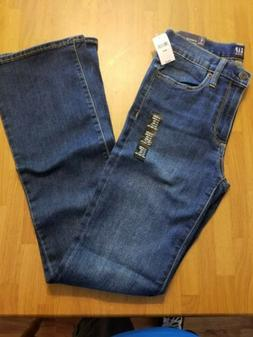 Gap Womens Perfect Boot Blue Jeans Size 28 R Size 6 Stretch