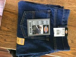 Dickies Work Jeans Regular Fit Straight Leg 40x30 Dark Blue