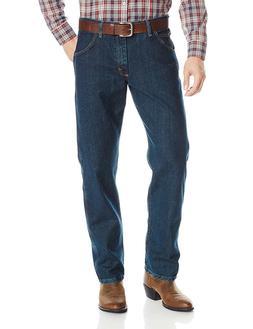 Wrangler Men's Premium Performance Advanced Comfort Cowboy