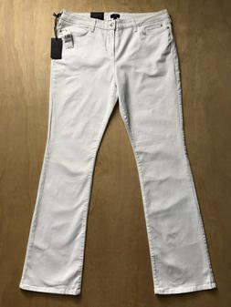 NYDJ x Billie White Denim Slimming Mini Bootcut Jeans Plus S